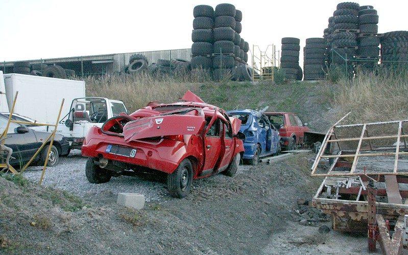 Quand est ce qu'une voiture est déclarée épave ?
